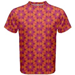 Pattern Abstract Floral Bright Men s Cotton Tee