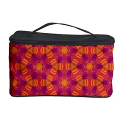 Pattern Abstract Floral Bright Cosmetic Storage Case