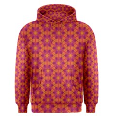 Pattern Abstract Floral Bright Men s Pullover Hoodie
