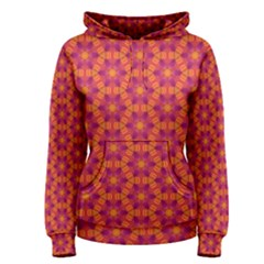 Pattern Abstract Floral Bright Women s Pullover Hoodie