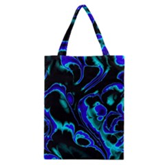 Glowing Fractal C Classic Tote Bag