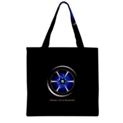 Power core Grocery Tote Bag