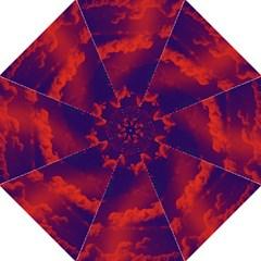 Sky pattern Hook Handle Umbrellas (Large)