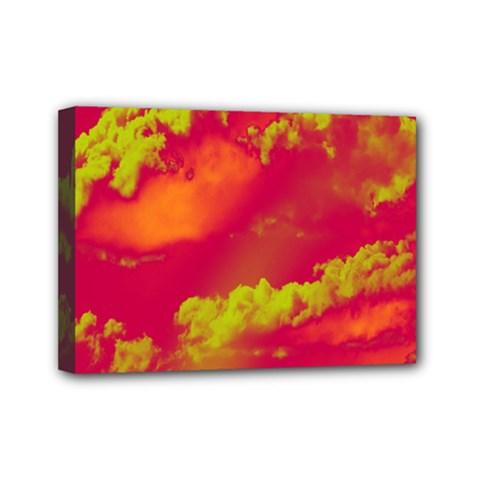 Sky pattern Mini Canvas 7  x 5