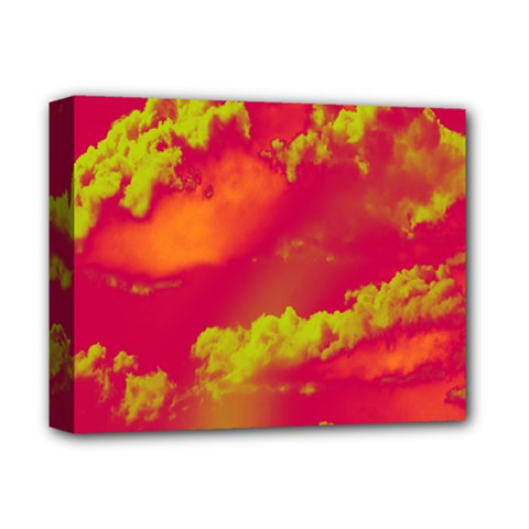 Sky pattern Deluxe Canvas 14  x 11