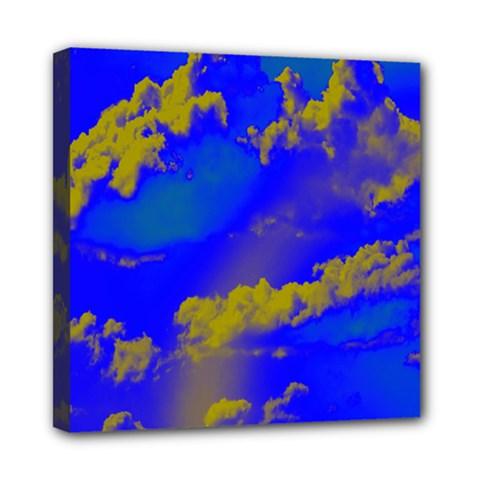 Sky pattern Mini Canvas 8  x 8