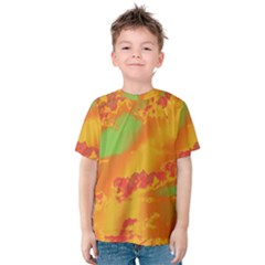 Sky pattern Kids  Cotton Tee
