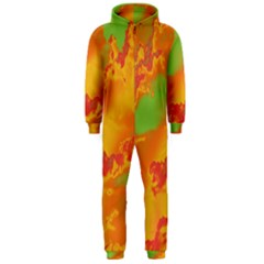 Sky pattern Hooded Jumpsuit (Men)