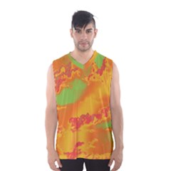 Sky pattern Men s Basketball Tank Top