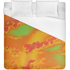 Sky pattern Duvet Cover (King Size)