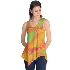 Sky pattern Sleeveless Tunic