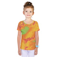 Sky pattern Kids  One Piece Tee
