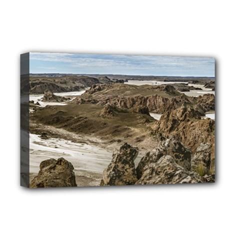 Miradores De Darwin, Santa Cruz Argentina Deluxe Canvas 18  x 12