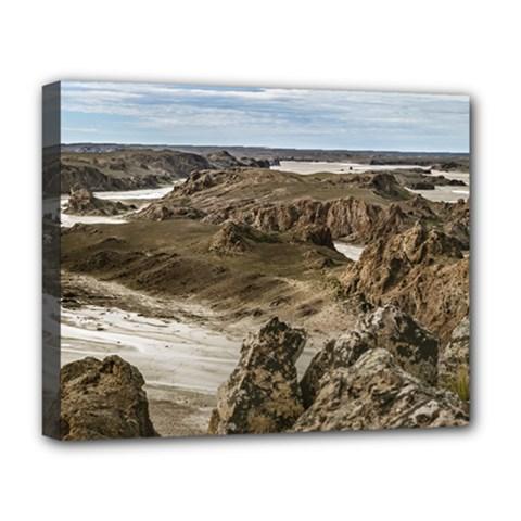 Miradores De Darwin, Santa Cruz Argentina Deluxe Canvas 20  x 16