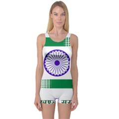Seal of Indian State of Jharkhand One Piece Boyleg Swimsuit