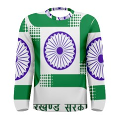 Seal of Indian State of Jharkhand Men s Long Sleeve Tee