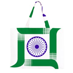 Seal of Indian State of Jharkhand Large Tote Bag