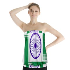 Seal of Indian State of Jharkhand Strapless Top
