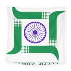 Seal Of Indian State Of Jharkhand Square Tapestry (large)