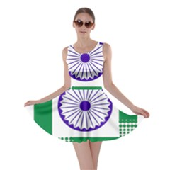 Seal of Indian State of Jharkhand Skater Dress