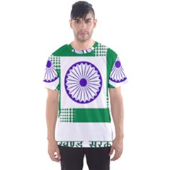 Seal of Indian State of Jharkhand Men s Sport Mesh Tee