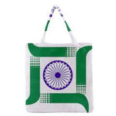 Seal of Indian State of Jharkhand Grocery Tote Bag