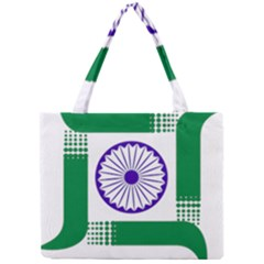 Seal of Indian State of Jharkhand Mini Tote Bag