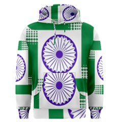 Seal of Indian State of Jharkhand Men s Pullover Hoodie