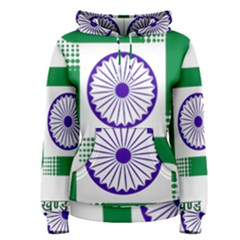 Seal of Indian State of Jharkhand Women s Pullover Hoodie