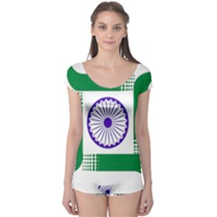 Seal of Indian State of Jharkhand Boyleg Leotard