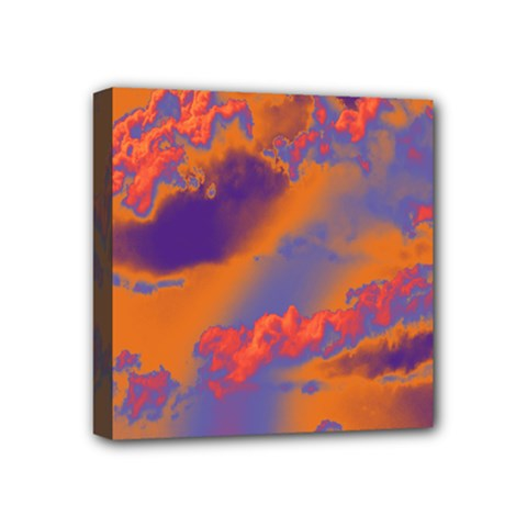Sky pattern Mini Canvas 4  x 4