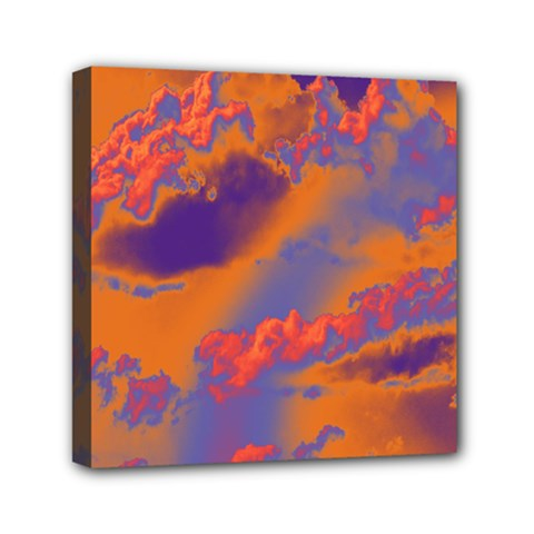 Sky pattern Mini Canvas 6  x 6