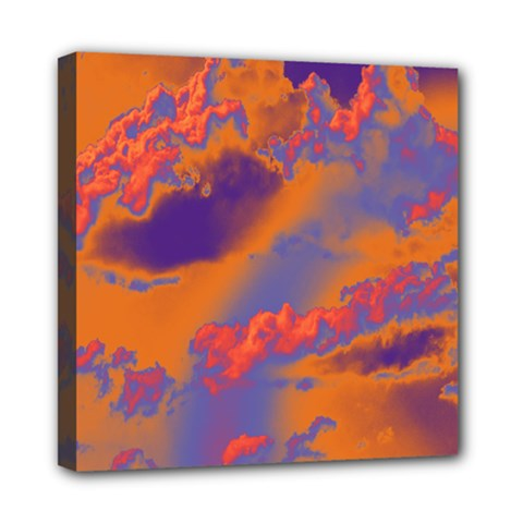 Sky pattern Mini Canvas 8  x 8