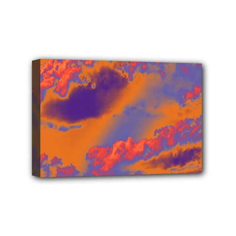 Sky pattern Mini Canvas 6  x 4