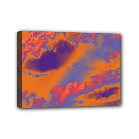 Sky pattern Mini Canvas 7  x 5