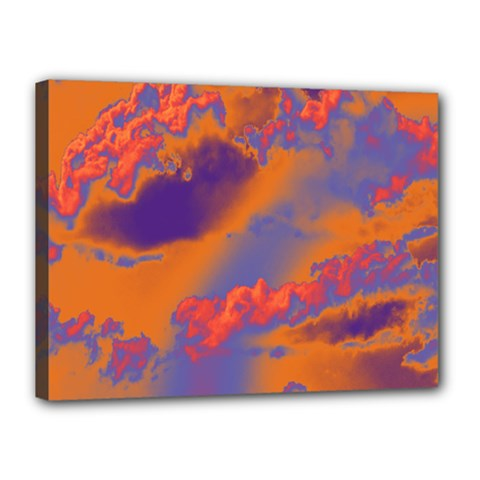 Sky pattern Canvas 16  x 12