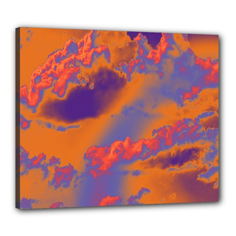 Sky pattern Canvas 24  x 20
