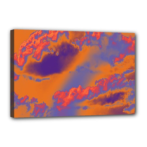 Sky pattern Canvas 18  x 12