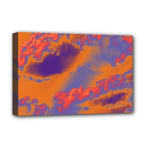 Sky pattern Deluxe Canvas 18  x 12