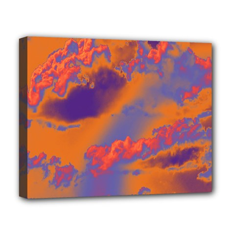 Sky pattern Deluxe Canvas 20  x 16