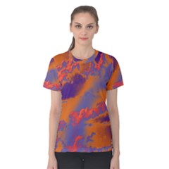 Sky pattern Women s Cotton Tee