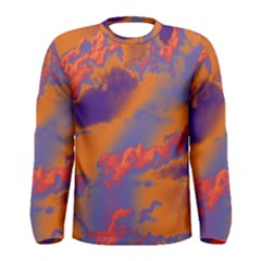 Sky pattern Men s Long Sleeve Tee