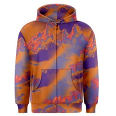 Sky pattern Men s Zipper Hoodie