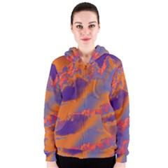 Sky pattern Women s Zipper Hoodie