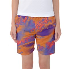 Sky pattern Women s Basketball Shorts
