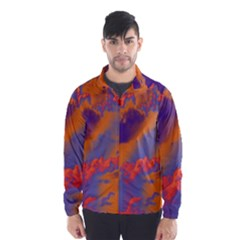 Sky pattern Wind Breaker (Men)