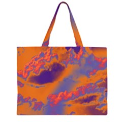 Sky pattern Large Tote Bag