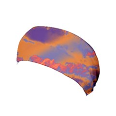 Sky pattern Yoga Headband