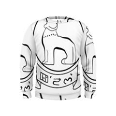 Seal of Indian State of Manipur  Kids  Sweatshirt