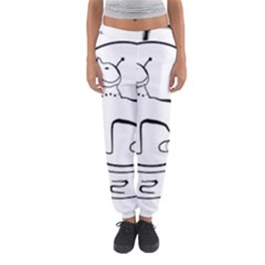 Seal of Indian State of Manipur  Women s Jogger Sweatpants